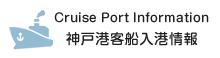 神戸港客船入港情報