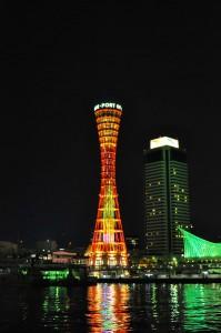 神戸ポートタワークリスマス